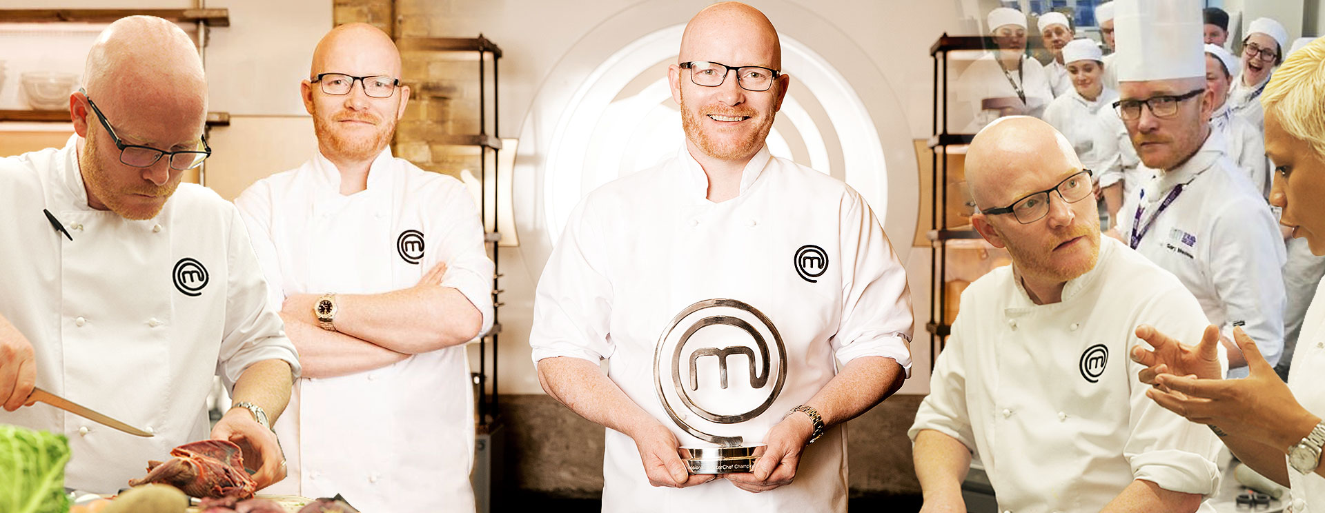 Chef Gary Maclean - Award winning Chef and Winner of MasterChef The Professionals