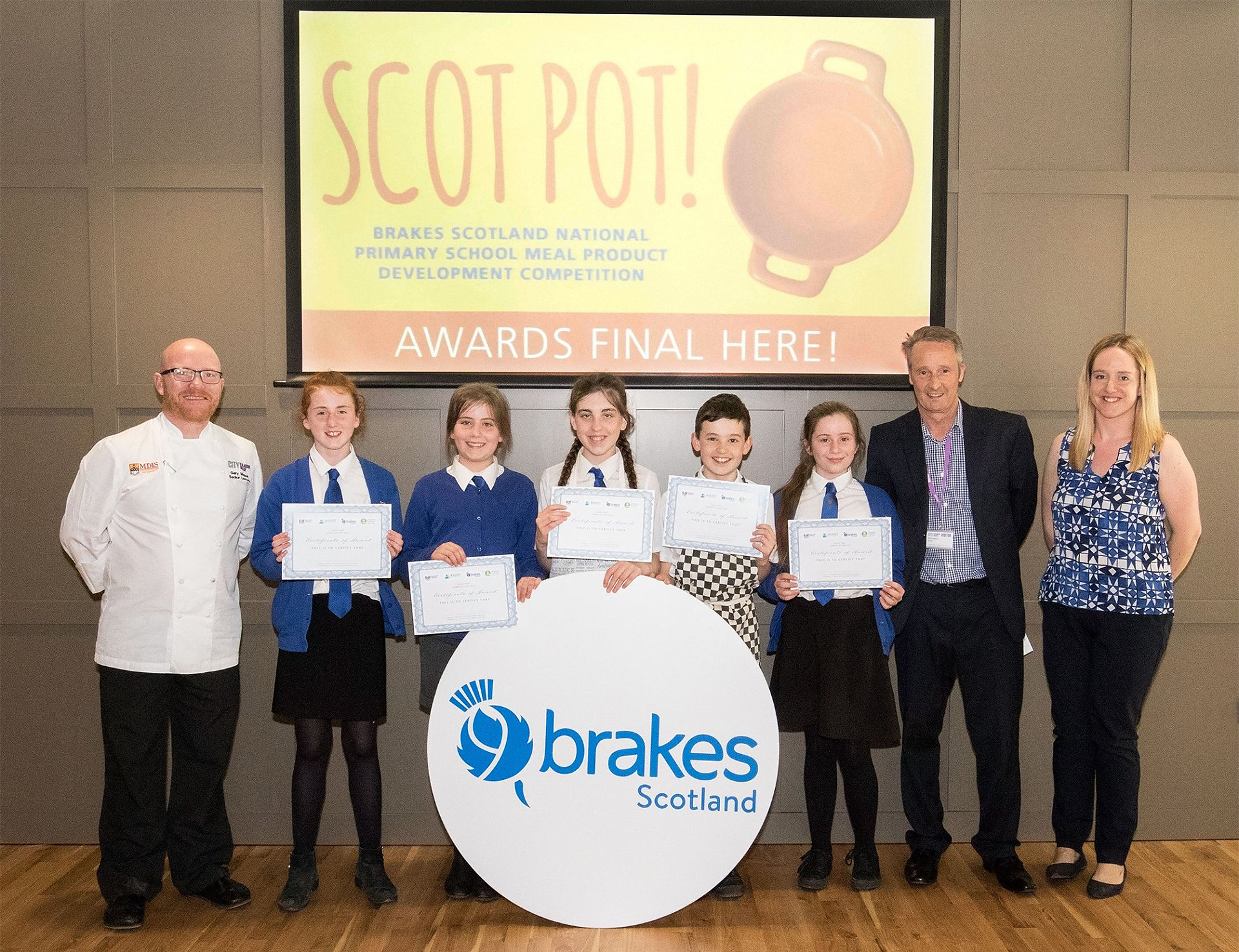 Brakes Scotland Pot Final Judging